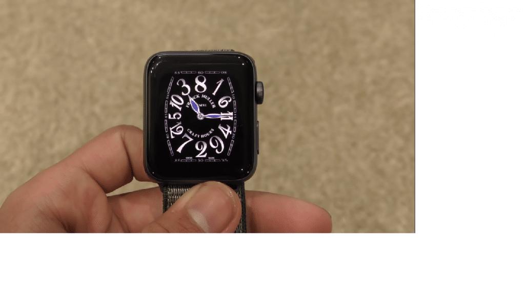 Apple watch faces Rolex