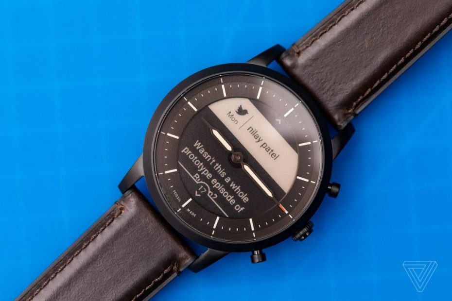 Fossil Hybrid Smartwatch: Analog and Digital Watches Combo