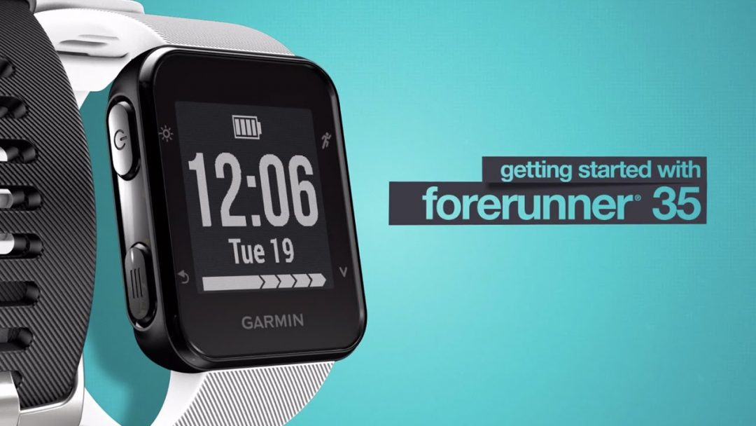 Evergreen Garmin Forerunner 35 Sports and Hiking Watch
