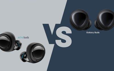 Samsung galaxy buds vs amazon echo buds