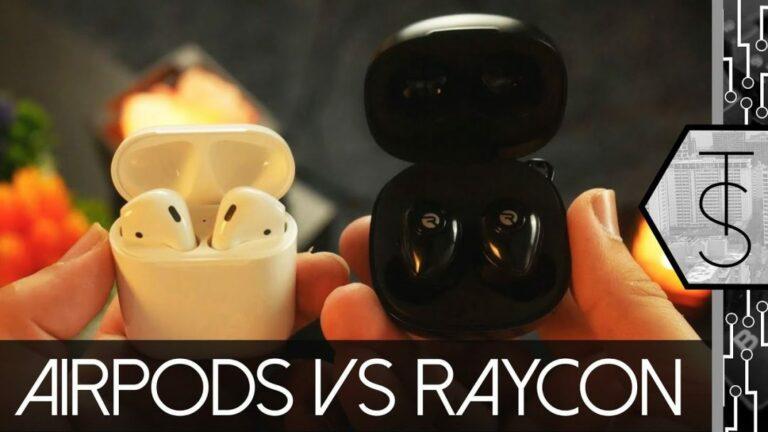 raycon e55 vs airpods pro