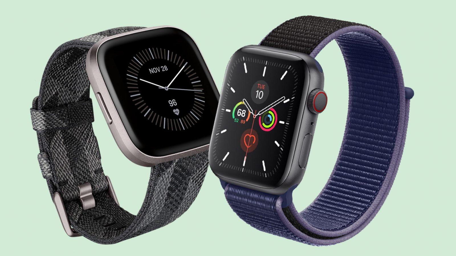 Apple Watch Series 5 VS Fitbit Versa 2