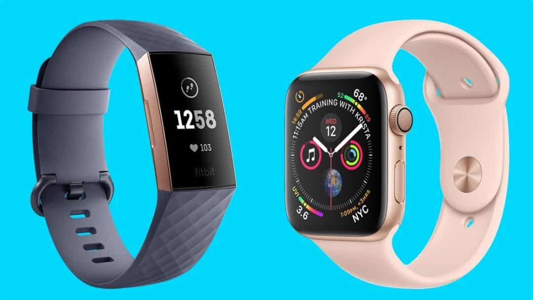 Apple Watch Series 5 VS Fitbit Charge 4